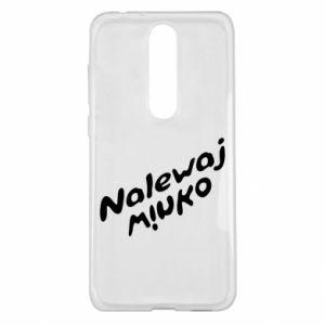Etui na Nokia 5.1 Plus Nalewaj winko