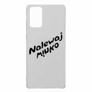 Etui na Samsung Note 20 Nalewaj winko