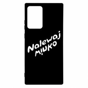 Etui na Samsung Note 20 Ultra Nalewaj winko