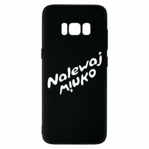 Phone case for Samsung S8 Pour the wine