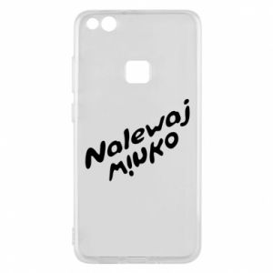 Etui na Huawei P10 Lite Nalewaj winko - PrintSalon