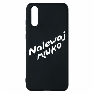 Phone case for Huawei P20 Pour the wine