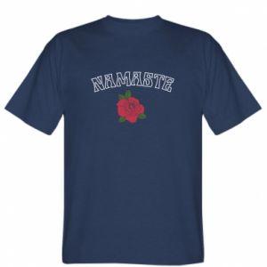 T-shirt Namaste rose
