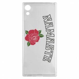 Etui na Sony Xperia XA1 Namaste rose