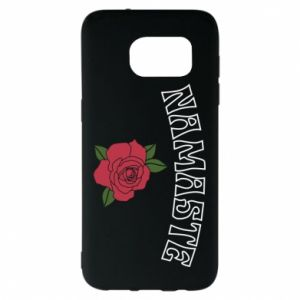 Etui na Samsung S7 EDGE Namaste rose