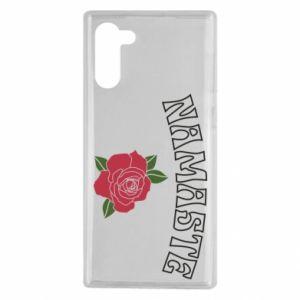 Etui na Samsung Note 10 Namaste rose