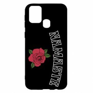 Etui na Samsung M31 Namaste rose