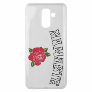 Etui na Samsung J8 2018 Namaste rose
