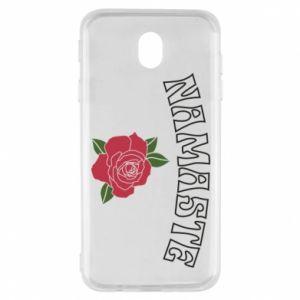 Etui na Samsung J7 2017 Namaste rose