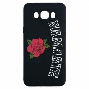 Etui na Samsung J7 2016 Namaste rose