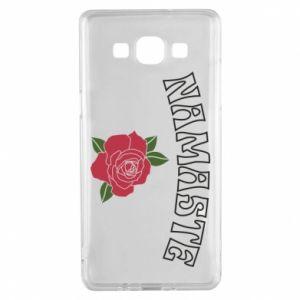 Etui na Samsung A5 2015 Namaste rose