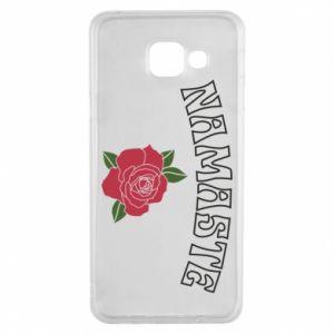 Etui na Samsung A3 2016 Namaste rose