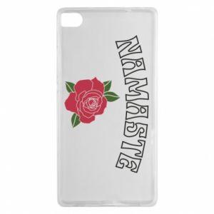 Etui na Huawei P8 Namaste rose