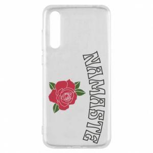 Etui na Huawei P20 Pro Namaste rose