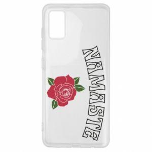 Etui na Samsung A41 Namaste rose