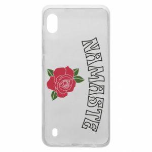 Etui na Samsung A10 Namaste rose