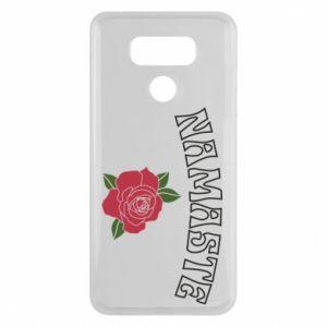 Etui na LG G6 Namaste rose
