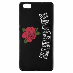 Etui na Huawei P 8 Lite Namaste rose