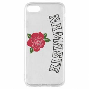 Etui na iPhone SE 2020 Namaste rose