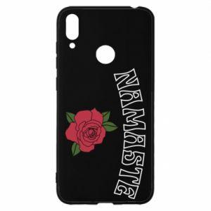 Etui na Huawei Y7 2019 Namaste rose