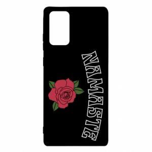 Etui na Samsung Note 20 Namaste rose