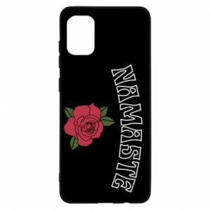 Etui na Samsung A31 Namaste rose