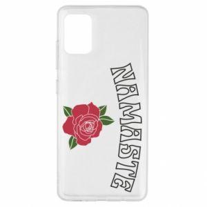 Etui na Samsung A51 Namaste rose