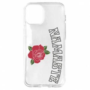Etui na iPhone 12 Mini Namaste rose