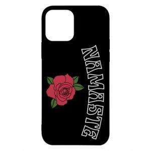 Etui na iPhone 12/12 Pro Namaste rose