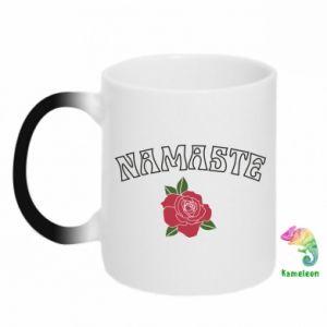 Kubek-magiczny Namaste rose