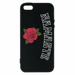 Phone case for iPhone 5/5S/SE Namaste rose