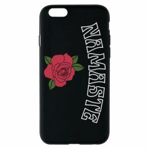Phone case for iPhone 6/6S Namaste rose