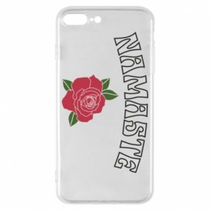 Phone case for iPhone 8 Plus Namaste rose