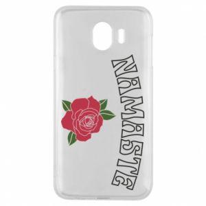 Phone case for Samsung J4 Namaste rose