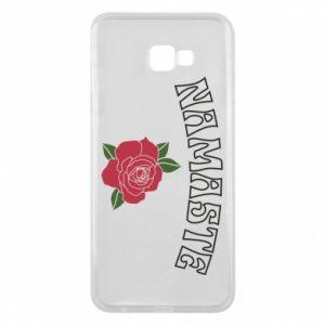 Phone case for Samsung J4 Plus 2018 Namaste rose