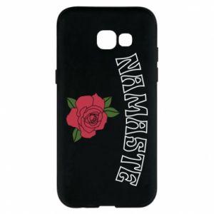 Phone case for Samsung A5 2017 Namaste rose