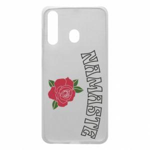 Phone case for Samsung A60 Namaste rose