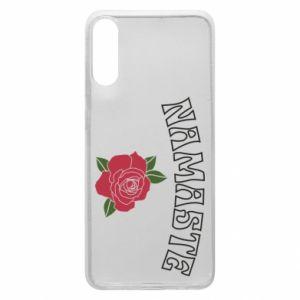 Phone case for Samsung A70 Namaste rose