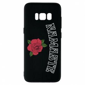 Phone case for Samsung S8 Namaste rose