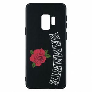 Phone case for Samsung S9 Namaste rose