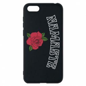 Phone case for Huawei Y5 2018 Namaste rose