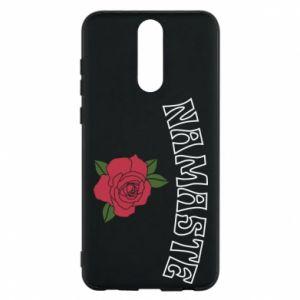 Phone case for Huawei Mate 10 Lite Namaste rose