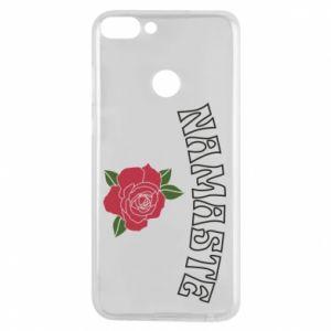 Phone case for Huawei P Smart Namaste rose