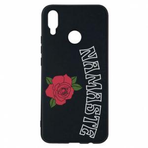 Phone case for Huawei P Smart Plus Namaste rose