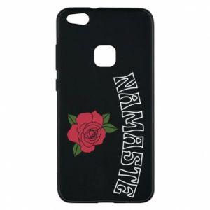 Phone case for Huawei P10 Lite Namaste rose