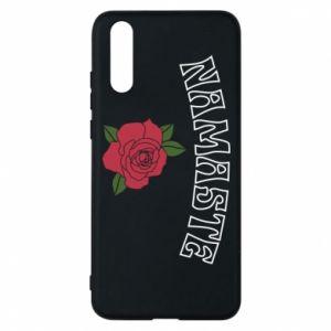 Phone case for Huawei P20 Namaste rose