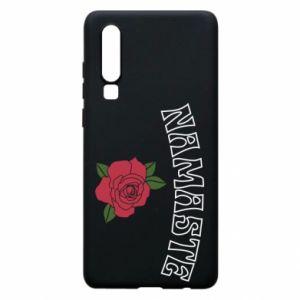 Phone case for Huawei P30 Namaste rose