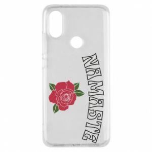 Phone case for Xiaomi Mi A2 Namaste rose