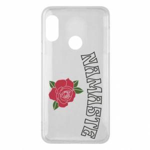 Phone case for Mi A2 Lite Namaste rose
