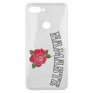Phone case for Xiaomi Mi8 Lite Namaste rose